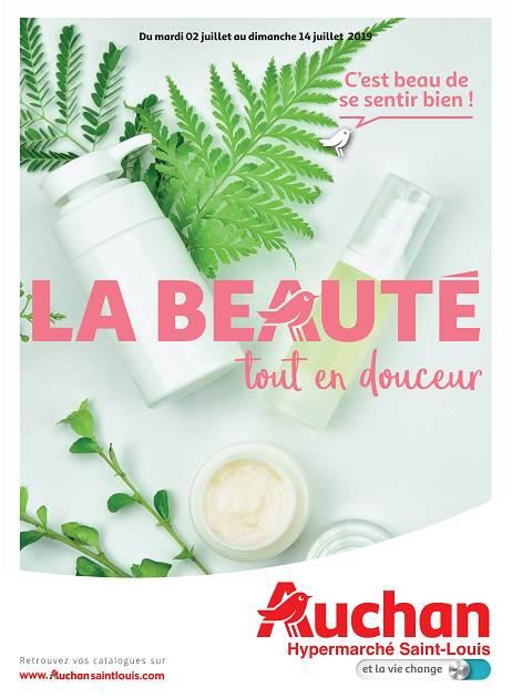 Lapub Re Prospectus De Auchan St Louis La Beaute Tout En