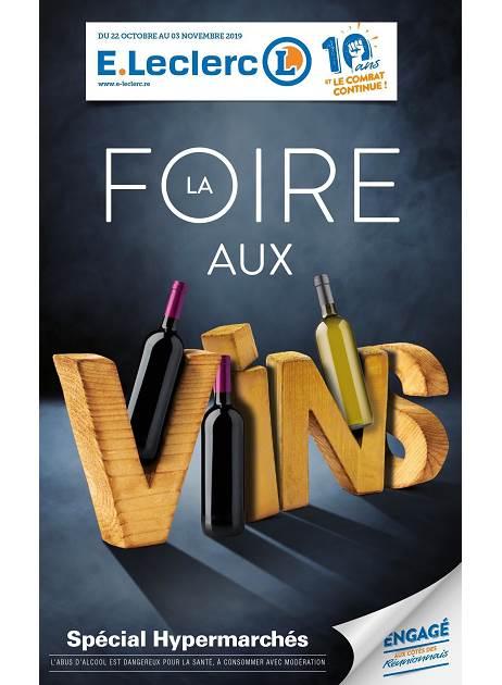 Lapubre Prospectus De E Leclerc Foire Aux Vins